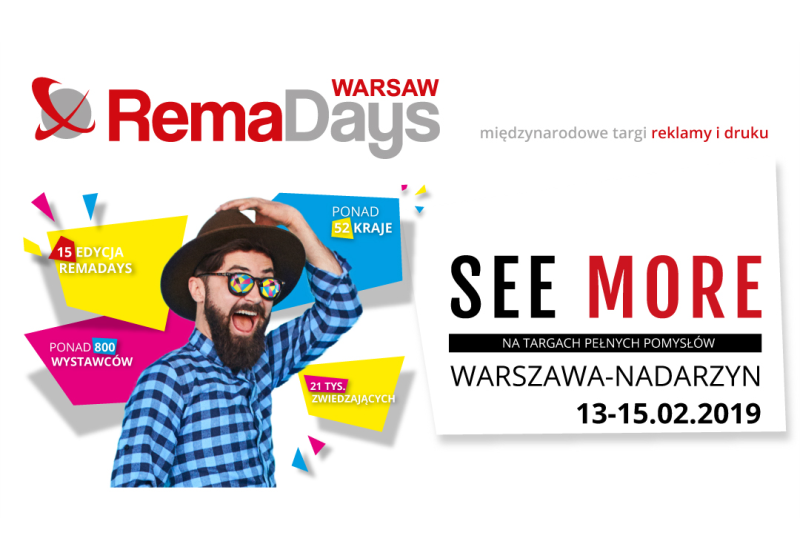 Rema Days International Advertising and Print Fair in Warsaw