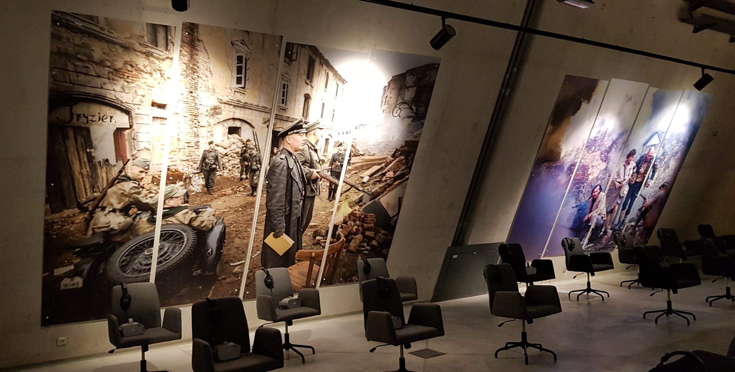Oznakowanie Muzeum II Wojny Światowej